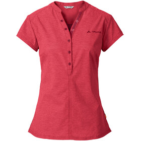 VAUDE Turifo Shirt Women red cluster